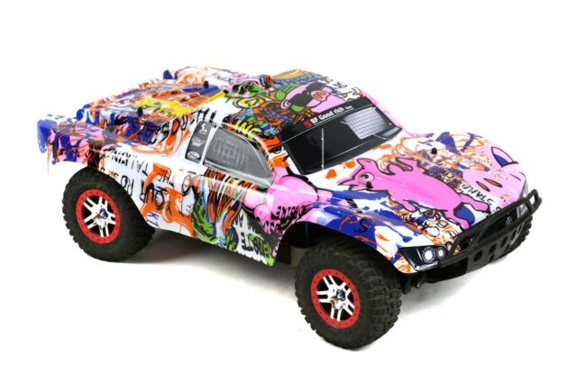 NEW Traxxas Slash 1//10 2wd 4wd Fox Racing Edition Painted Body Shell VXL Decals