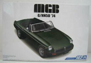 MGB-G-HN5D-1974-Bausatz-AOSHIMA-1-24-OVP-NEU