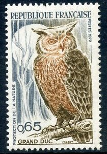 Belle Stamp / Timbre France Neuf Luxe N° 1694 ** Grand Duc Protection De La Nature Un Style Actuel