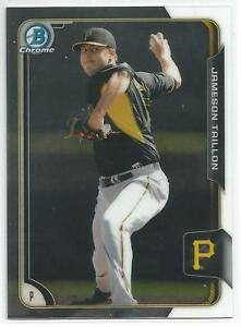 Jameson-Taillon-Pittsburgh-Pirates-2015-Bowman-Chrome-Prospect-Card