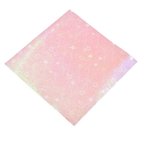 15x15cm Single Side Laser Origami Folding Paper Hand Craft Star Pattern Decor