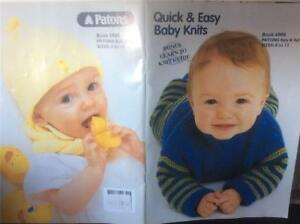 Patons Baby Babies Knitting Pattern Designs Books 6000 In 8 4 Ply