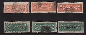 Canada-1875-76-Used-Registration-Issues-F1-and-F2-See