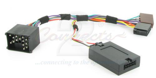 Connects 2 Volante//tallo estéreo de plomo para adaptarse a Bmw 5 SERIES E39