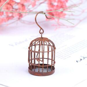 1-12-Dollhouse-accessories-miniature-metal-bird-cage-doll-house-ornament-PTJ