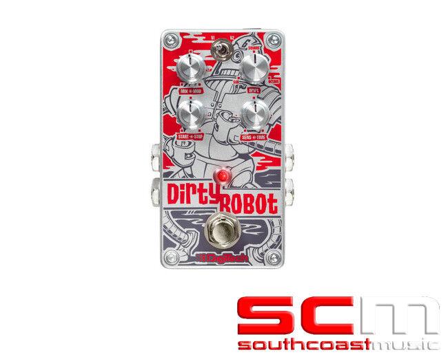 Digitech DIRTYROBOT SYNTH PEDAL Guitar FX Pedal  dirty robot Stomp Box - NEW