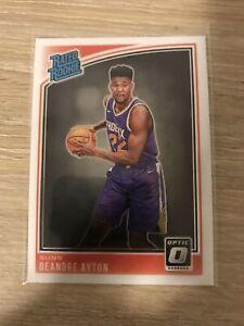 2018-19-Panini-Donruss-Optic-Base-Deandre-Ayton-Rated-Rookie-Card-RC-Suns-157