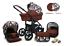 miniatura 18 - TRIO 3in1 OPTIMAL SET CARROZZINA +PASSEGGINO+SEGGIOLINO+ OVETTO BABY
