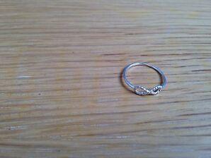 Silberring 925 Infinity Ring small 51 16mm vintagestil filigran topp trend wow