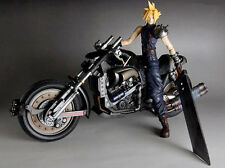 Cloud Strife & Hardy Daytona Final Fantasy 7 Unpainted Figure Model Resin Kit