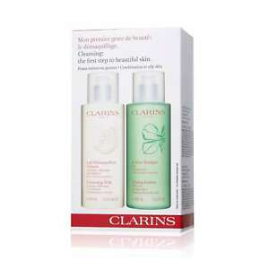 Image is loading Clarins-Cleansing-Milk-with-Gentian-400ml-Toning-Lotion- e1ac56c1c65