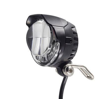 XIAOWANG Fahrradbeleuchtung Led Set,E-Bike LED-Scheinwerfer 12V 24V 36V 48V 60V 72V Fahrradlicht mit Horn Wasserdichter Frontscheinwerferoder Rennrad-Nachtfahrten,