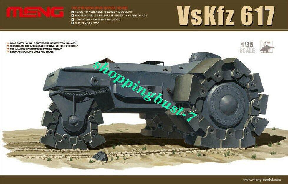 Meng Model 1//35 SS001 German VsKfz 617 for sale online