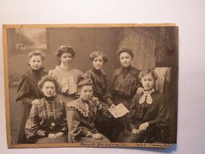 Rheydt-Handelsschule-Industrie-Schule-1905-mit-Anna-Stuenkel-Lini-Flug-Foto