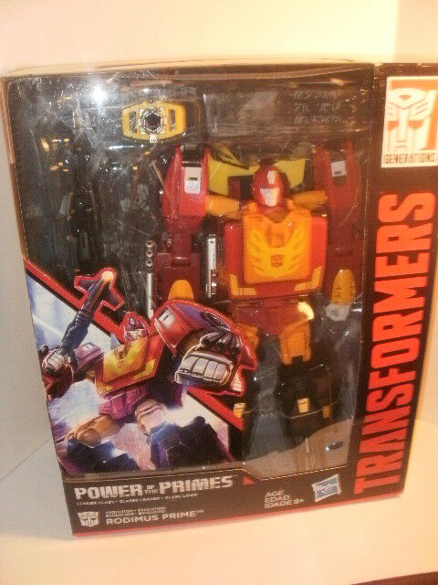 Transformers  Generations Power of the Primes Leader Evolution Rodimus Prime NEW