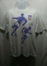 Vintage 1994 World Cup USA Short Sleeve Graphic T-Shirt Size XL Soccer Football