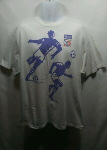 Vintage-1994-World-Cup-USA-Short-Sleeve-Graphic-T-Shirt-Size-XL-Soccer-Football