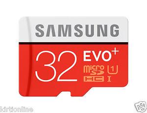 Samsung EVO Plus 32GB microSDHC Card (SD Adapter) ( MB-MC32D )