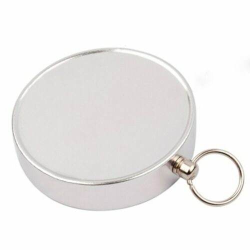 Silver Mini Portable Pocket Compass for Camping Hiking Outdoor Sports Navigation