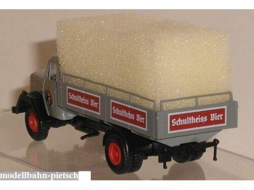 Sondermodell Magirus Eckhauber Schultheiss Bier Brekina 990027 Berlin