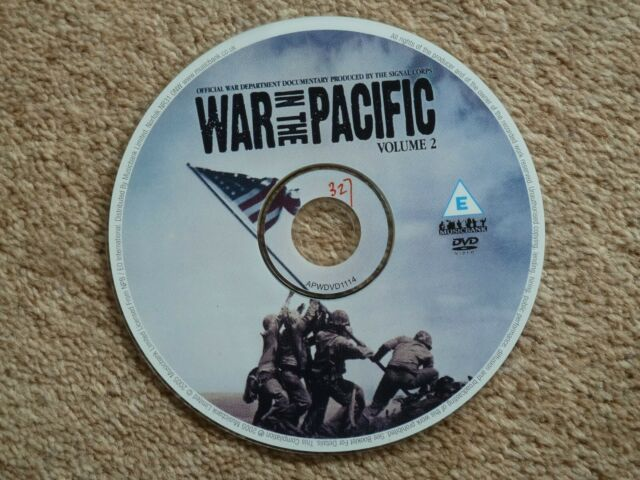 WAR IN THE PACIFIC - VOL. 2  -   2005   (1 DVD )   -  FREE P&P