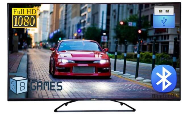 "BlackOx 42LE4002 40"" Bluetooth Full HD LED TV - 5 yrs Wty- In-Built Games"