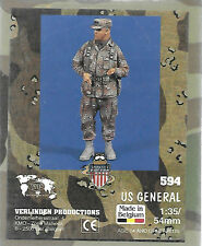 Verlinden U.S.General Desert Storm Figure Resin 1/35 Scale Army Soldier VP0594