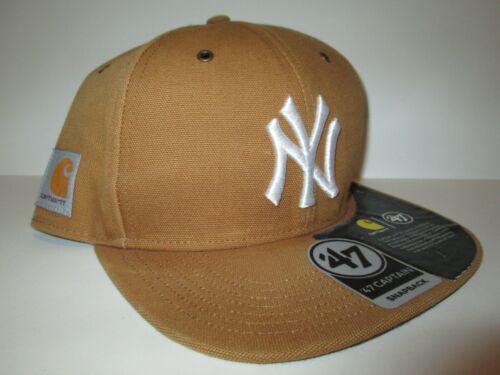 Carhartt 47 Captain New York Yankees Snapback Hat