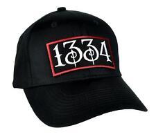 1334 Black Plague Hat Baseball Cap Alternative Death Goth Punk Deathrock Metal
