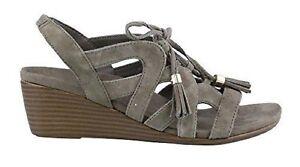bb399e4124a0 Image is loading VIONIC-Ladies-PARK-KALIE-Demi-Wedge-Sandals-GREIGE-