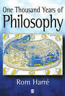 One Thousand Years of Philosophy by Rom Harre (Paperback, 2000)