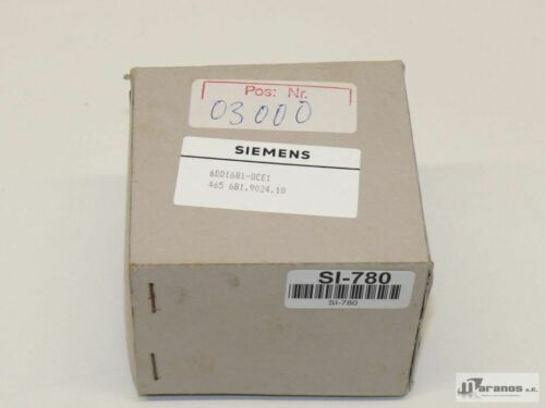 Nouveau-Neuf dans sa Boîte Siemens 6dd1 681-0ce1//6dd1681-0ce1