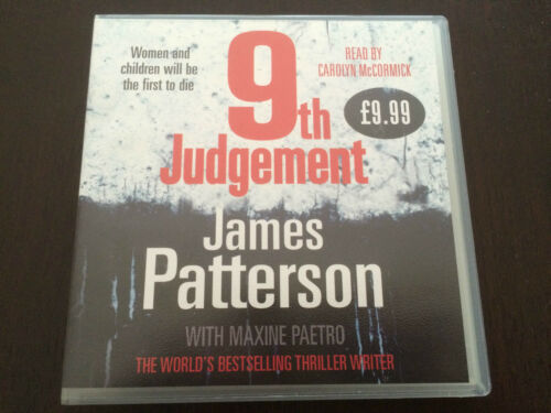 """1 of 1 - """"9th Judgement"""" by James Patterson (CD, Audio Book, 5 CD's, 2010) *VGC*"""
