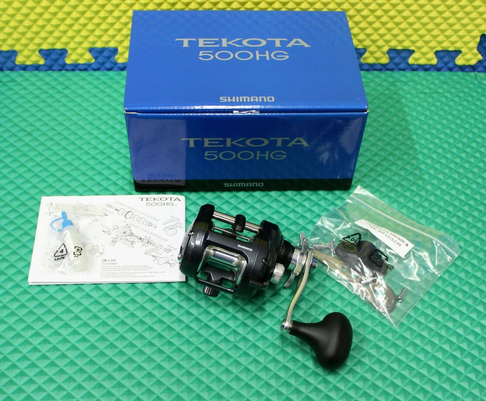 Shimano Tekota Levelwind Trolling Reel NEW FOR 2019  TEK500HGA