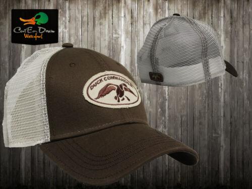 NEW AUTHENTIC DUCK COMMANDER DYNASTY BROWN /& MESH TRUCKER HAT CAP BUCK