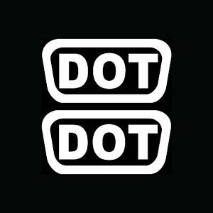 2x-DOT-Stickers-Helmet-Vinyl-Decals-Pack-Shipping-D-O-T-Motorcycle-Bike-Replace