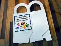 12 Super Mario Loot Boxes/bags Birthday Party Favor Treat, Award, Nintendo Wii U