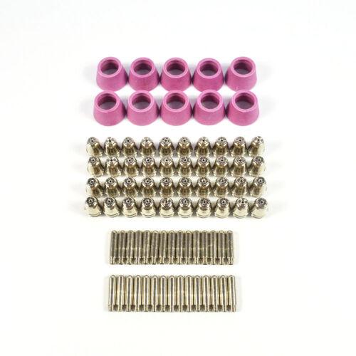 26//40//80pcs 60A SG55 AG-60 CUT60 LGK60 Plasma Cutter Torch Tip Consumables