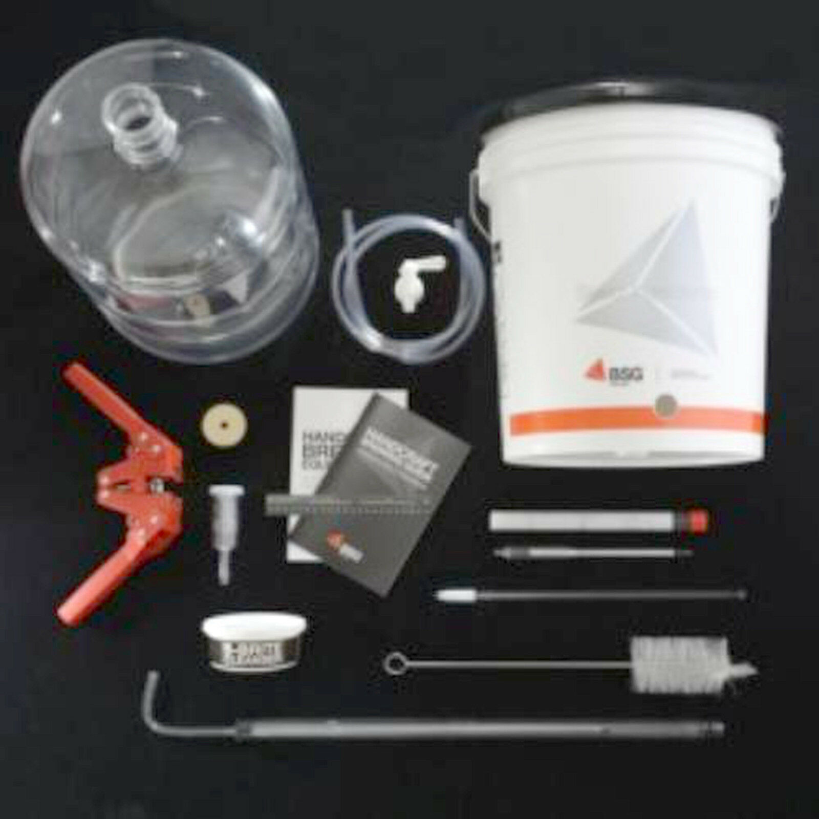 Advanced Home Brewing Equipment Kit With 6g Plastic Carboy (K6PET) 2
