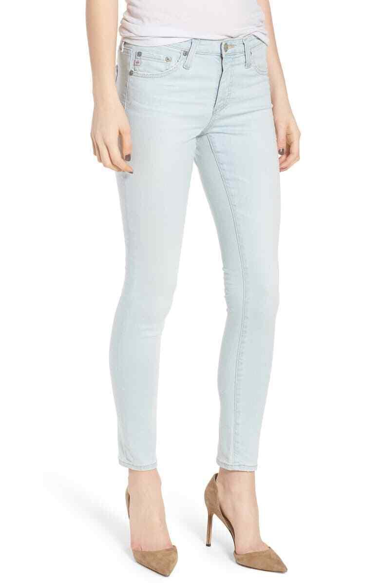 NWT  225 AG jeans The Legging Ankle Skinny jeans, 26 Years Sandcastles, Storlek 26