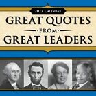 2017 Great Quotes From Great Leaders Boxed Calendar by Sourcebooks 9781492634294
