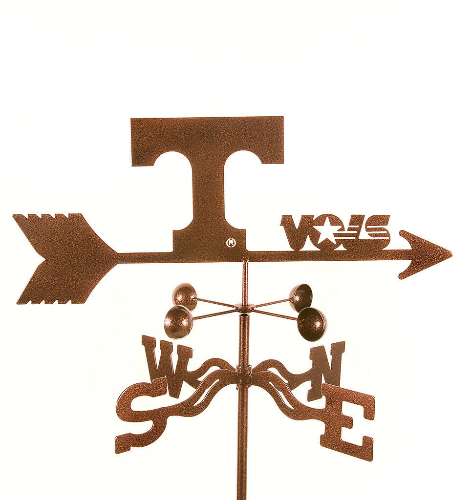 University of Tennessee Weathervane - VOLS - Volunteers - with Choice of Mount
