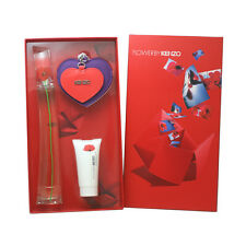 Flower Perfume for Women By Kenzo 3 Pc. Gift Set