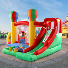Inflatable Kids Slide Bounce House Jumper Castle Moonwalk Bouncer Without Blower