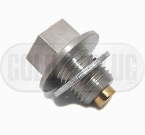 Toyota Rav 4 Magnetic Engine Oil Drain Plug Gold Plug