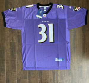 Details about Jamal Lewis Reebok Authentic Baltimore Ravens Jersey - Brand New Size 54 (D1)