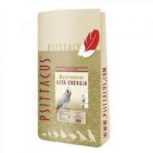 Psittacus Haute Energie 12kg Perroquets,perruches,aras,gris,alimentation Pour