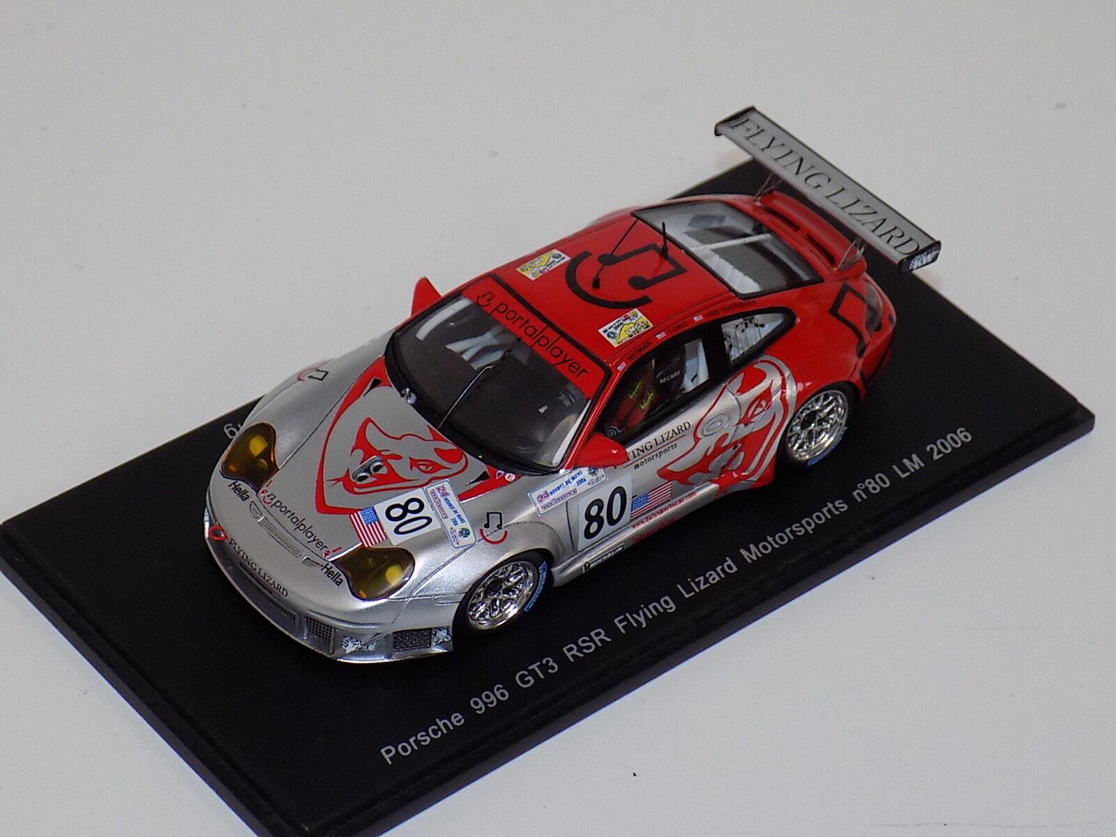 1 43 Spark Porsche 911 GT3 RSR coche horas de LeMans S0970