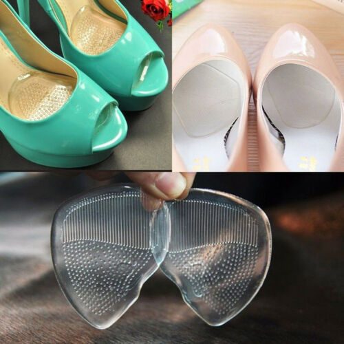 3//5 Pairs Insoles Front Pad Feet Shoe Foot Care Silicone Gel Cushion High-heel A