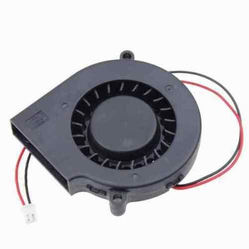 75mm x 30mm Radial Blower Fan Cooling Hotend 7530-5V 12V 24V DC 2 Pin